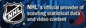 Pointstreak is an NHL official provider of scouting statistical data and video content